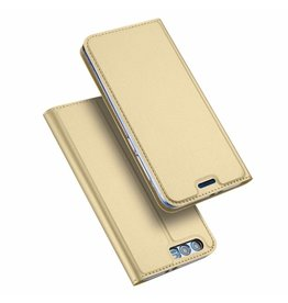 Dux Ducis Honor 9 case - Dux Ducis Skin Pro Book Case - Gold