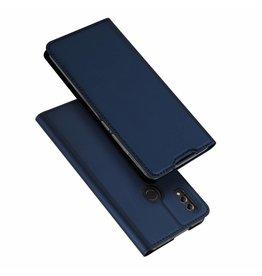 Dux Ducis Huawei Honor 8X MAX case - Dux Ducis Skin Pro Book Case - Blue