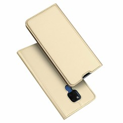 Huawei Mate 20x hoesje - Dux Ducis Skin Pro Book Case - Goud