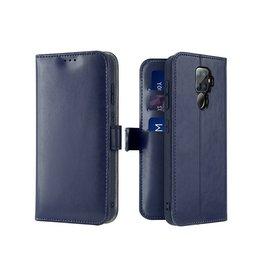 Dux Ducis Huawei Mate 30 Lite case - Dux Ducis Kado Wallet Case - Blue