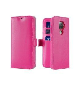 Dux Ducis Huawei Mate 30 Lite case - Dux Ducis Kado Wallet Case - Pink