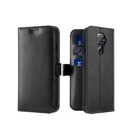 Dux Ducis Huawei Mate 30 Lite case - Dux Ducis Kado Wallet Case - Black