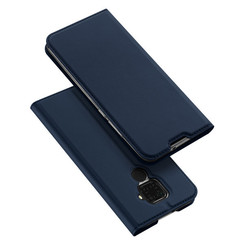 Huawei Mate 30 Lite hoesje - Dux Ducis Skin Pro Book Case - Blauw