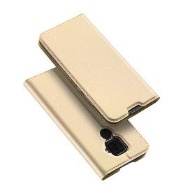 Dux Ducis Huawei Mate 30 Lite case - Dux Ducis Skin Pro Book Case - Gold