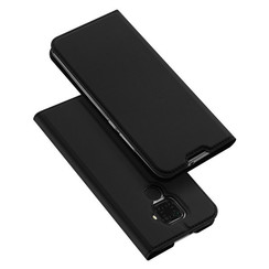 Huawei Mate 30 Lite hoesje - Dux Ducis Skin Pro Book Case - Zwart