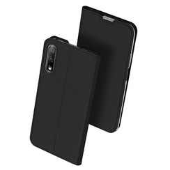 Huawei P Smart Pro 2019 case - Dux Ducis Skin Pro Book Case - Black