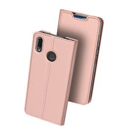 Dux Ducis Huawei P Smart Z case - Dux Ducis Skin Pro Book Case - Rosé-Gold