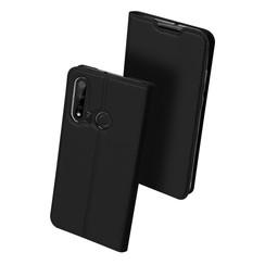 Huawei P20 Lite (2019) hoesje - Dux Ducis Skin Pro Book Case - Zwart