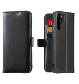 Dux Ducis Huawei P30 Pro case - Dux Ducis Kado Wallet Case - Black