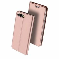 Huawei Y6 (2018) case - Dux Ducis Skin Pro Book Case - Pink
