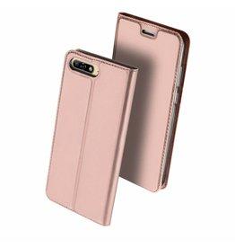 Dux Ducis Huawei Y6 (2018) case - Dux Ducis Skin Pro Book Case - Pink