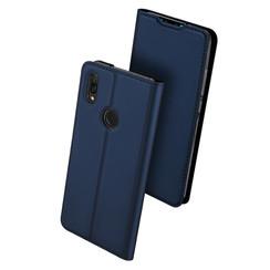 Huawei Y7 (2019) hoesje - Dux Ducis Skin Pro Book Case - Blauw