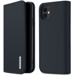 iPhone 11 case - Dux Ducis Wish Wallet Book Case - Blue