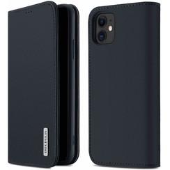 iPhone 11 hoesje - Dux Ducis Wish Wallet Book Case - Blauw