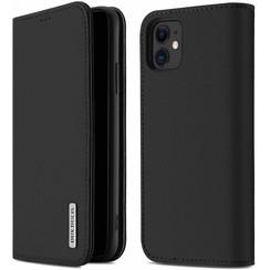 iPhone 11 case - Dux Ducis Wish Wallet Book Case - Black