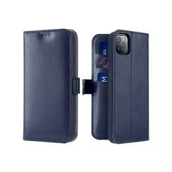 iPhone 11 Pro Max case - Dux Ducis Kado Wallet Case - Blue