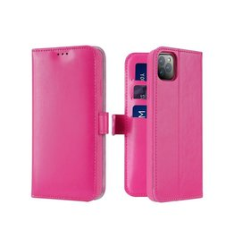 Dux Ducis iPhone 11 Pro Max case - Dux Ducis Kado Wallet Case - Pink