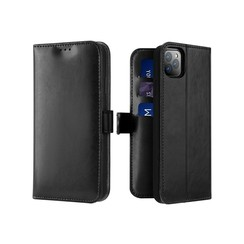 iPhone 11 Pro Max case - Dux Ducis Kado Wallet Case - Black