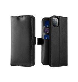 Dux Ducis iPhone 11 Pro Max case - Dux Ducis Kado Wallet Case - Black