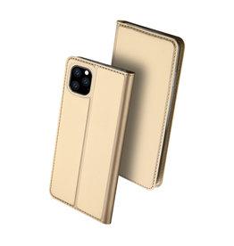 Dux Ducis iPhone 11 Pro Max case - Dux Ducis Skin Pro Book Case - Gold
