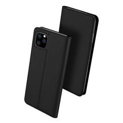 iPhone 11 Pro Max case - Dux Ducis Skin Pro Book Case - Black