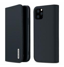 Dux Ducis iPhone 11 Pro Max case - Dux Ducis Wish Wallet Book Case - Blue