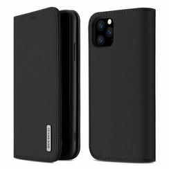 iPhone 11 Pro Max case - Dux Ducis Wish Wallet Book Case - Black