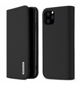 Dux Ducis iPhone 11 Pro Max case - Dux Ducis Wish Wallet Book Case - Black