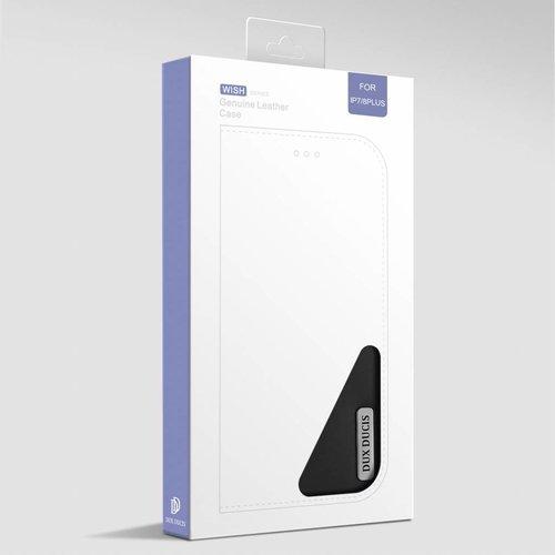 Dux Ducis iPhone 7 Plus / iPhone 8 Plus hoesje - Dux Ducis Wish Wallet Book Case - Zwart