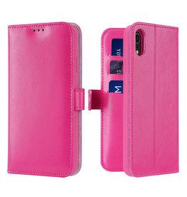 Dux Ducis iPhone XR case - Dux Ducis Kado Wallet Case -Pink