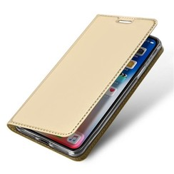 iPhone XR hoesje - Dux Ducis Skin Pro Book Case - Goud