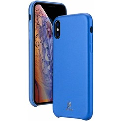 iPhone XS Max hoes - Dux Ducis Skin Lite Back Cover - Blauw