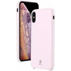 iPhone XS Max hoes - Dux Ducis Skin Lite Back Cover - Roze