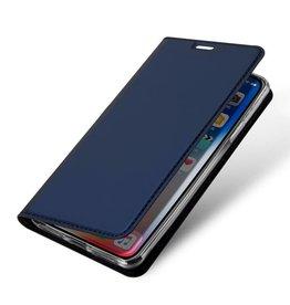 Dux Ducis iPhone XS Max case - Dux Ducis Skin Pro Book Case - Blue
