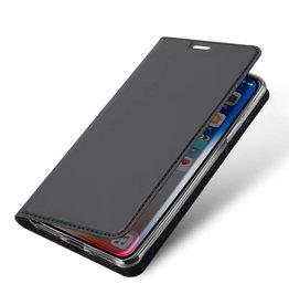 Dux Ducis iPhone XS Max case - Dux Ducis Skin Pro Book Case - Grey