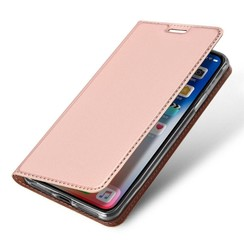 iPhone XS Max case - Dux Ducis Skin Pro Book Case - Pink