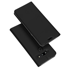 LG G8 ThinQ hoesje - Dux Ducis Skin Pro Book Case - Zwart