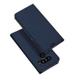 Dux Ducis LG V50 ThinQ case - Dux Ducis Skin Pro Book Case - Blue