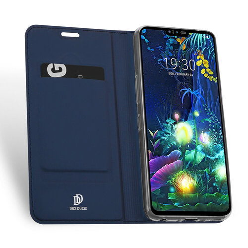 Dux Ducis LG V50 ThinQ hoesje - Dux Ducis Skin Pro Book Case - Blauw
