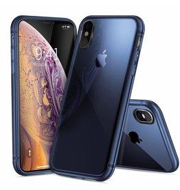 Dux Ducis Light TPU Case - iPhone XS MAX - Transparant / Blue