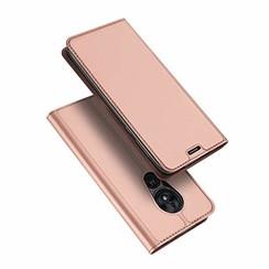 Motorola Moto G7 Play hoesje - Dux Ducis Skin Pro Book Case - Rosé-Goud