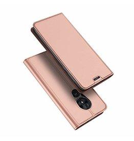 Dux Ducis Motorola Moto G7 Play case - Dux Ducis Skin Pro Book Case - Rosé-Gold