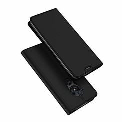 Motorola Moto G7 Power case - Dux Ducis Skin Pro Book Case - Black