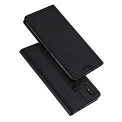 Motorola Moto One Power case - Dux Ducis Skin Pro Book Case - Black