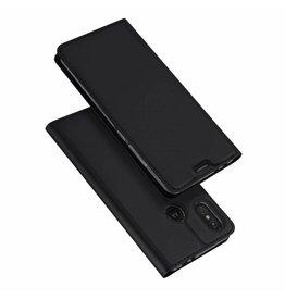 Dux Ducis Motorola Moto One Power case - Dux Ducis Skin Pro Book Case - Black