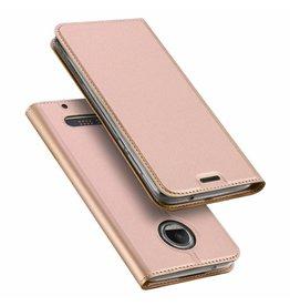 Dux Ducis Motorola Moto Z2 Force case - Dux Ducis Skin Pro Book Case - Pink