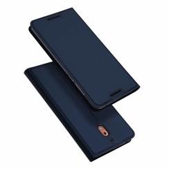 Nokia 2.1 hoesje - Dux Ducis Skin Pro Book Case - Blauw