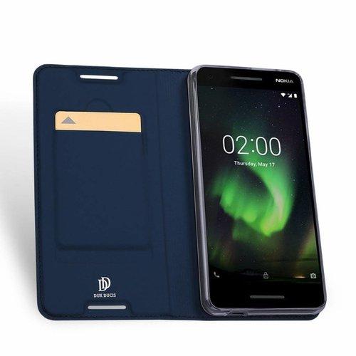 Dux Ducis Nokia 2.1 hoesje - Dux Ducis Skin Pro Book Case - Blauw
