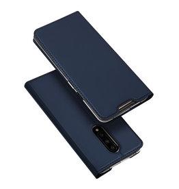 Dux Ducis OnePlus 7 case - Dux Ducis Skin Pro Book Case - Blue