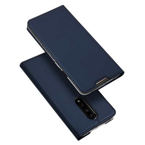Dux Ducis OnePlus 7 hoesje - Dux Ducis Skin Pro Book Case - Blauw